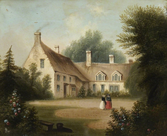 Bolton, Rebecca, active 19th C; Burnham Thorpe Rectory